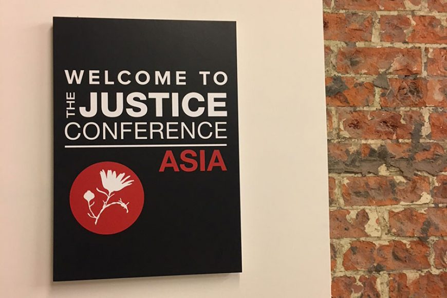 Advocacy at The Justice Conference Asia