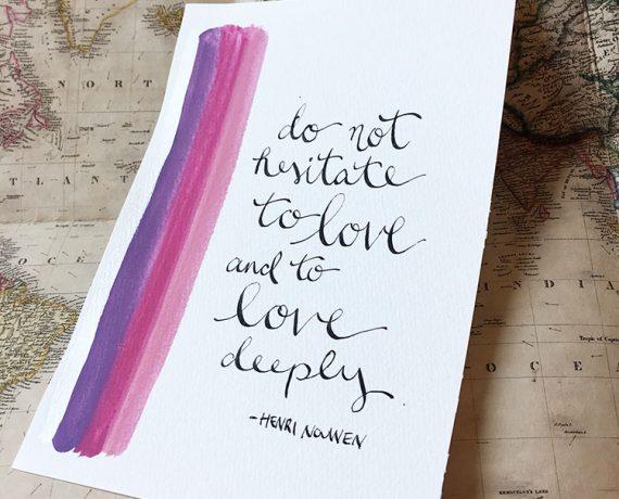 Love Deeply