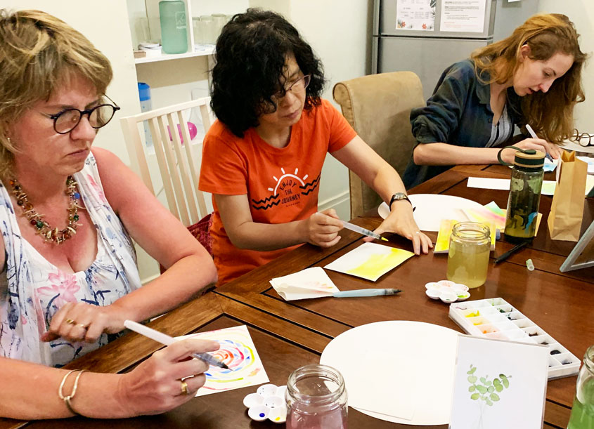 Watercolouring Workshop