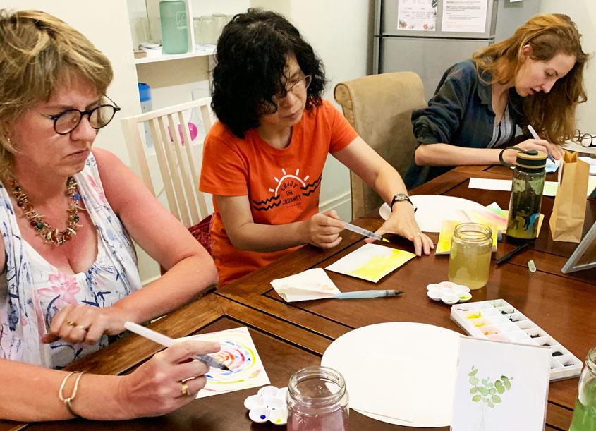 Watercolouring Workshop