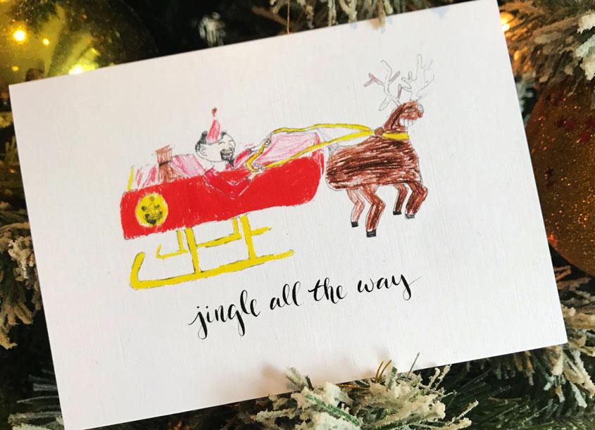 Solomon's Porch Christmas Santa Collection