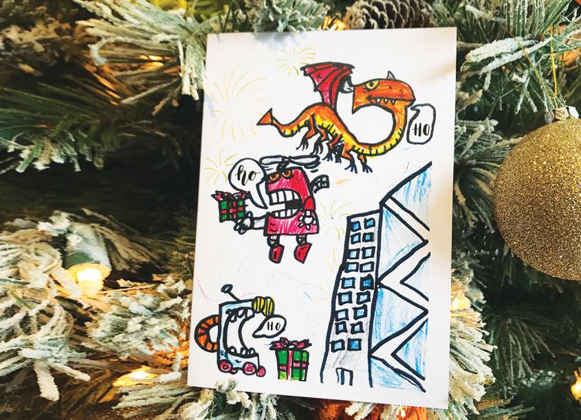 Solomon's Porch Christmas Robots Collection