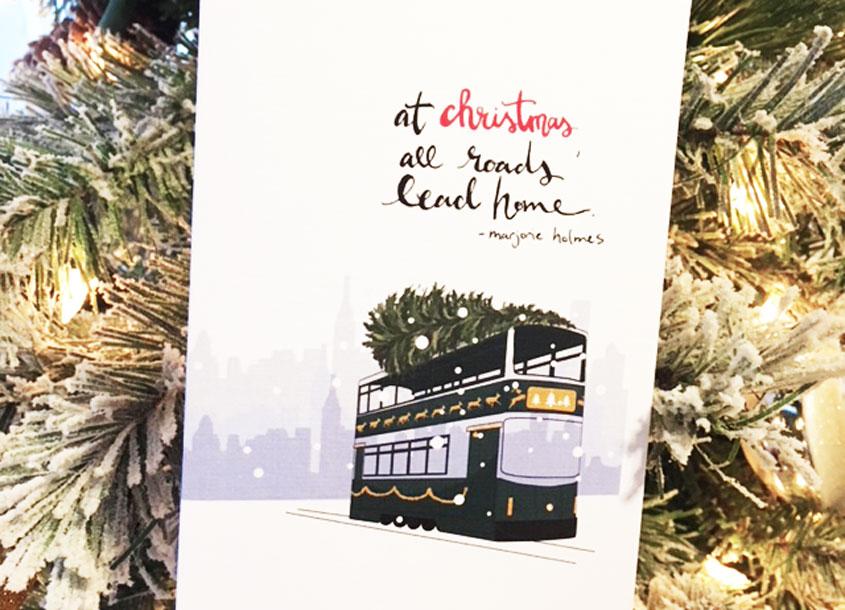 HK Tram Christmas
